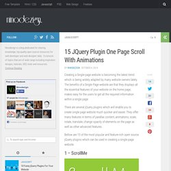 15 JQuery Plugin One Page Scroll With Animations - ninodezign.com