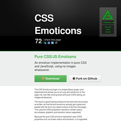JQuery CSS Emoticons Plugin - Alfa Jango Blog