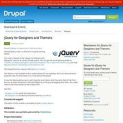 jQuery for Designers and Themers