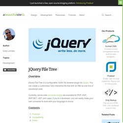 jQuery File Tree · A Beautiful Site