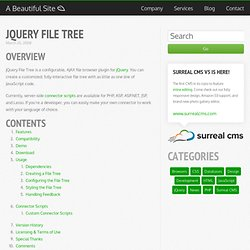 jQuery File Tree · A Beautiful Blog
