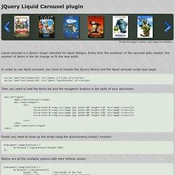 jQuery Liquid Carousel plugin - Vimperator