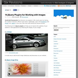 14 jQuery Plugins for Working with Images