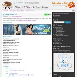 jQuery.Smart3D « Info for Coders
