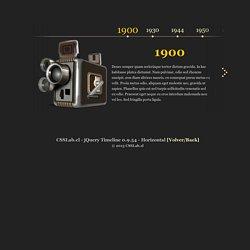 jQuery Timeline 0.9.54 - Dando vida al tiempo
