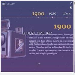 jQuery Timelinr ↩ CSSLab