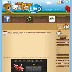 jQuery Timelinr - Créer un slider de timeline avancé avec jQuery