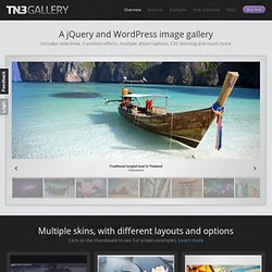 jQuery Image Gallery and Slideshow – TN3 Gallery