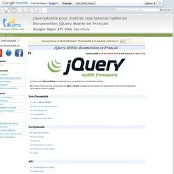 jQueryMobile pour mobiles smartphones tablettes jQuery Mobile en Français