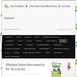 Sims 4 Updates -♦- Sims Finds & Sims Must Haves -♦- Free Sims Downloads
