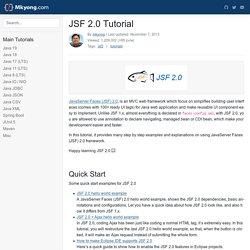 JSF 2.0 Tutorial – Mkyong.com