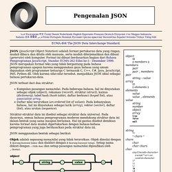 Belajar JSON