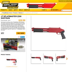 JT SplatMaster z200 Shotgun - JT SplatMaster