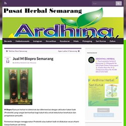 Jual M Biopro Semarang – Toko Herbal Semarang