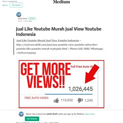 Jual Like Youtube Murah Jual View Youtube Indonesia