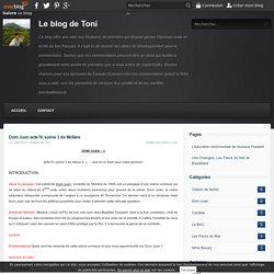Dom Juan acte IV, scène 3 de Molière - Le blog de Toni