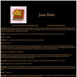 Juan Bobo – The WHEEL Council