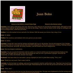 Juan Bobo – The WHEEL Council