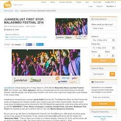 Juanderlust First Stop: Malasimbo Festival 2016