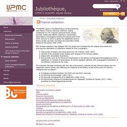 Jubilothèque — Fonds Charcot