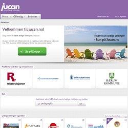 jucan.no - ledige stillinger og ledige jobber i Norge