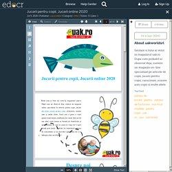 Jucarii pentru copii, Jucarii online 2020