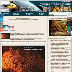 Judaculla Rock's Mystery - Does It Contain A Secret Coded Message To Mankind?