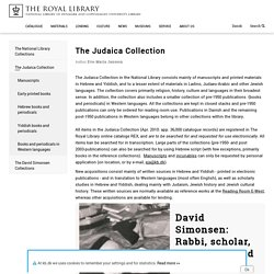 The Judaica Collection
