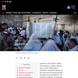 Judaism: Founder, Beliefs & Facts