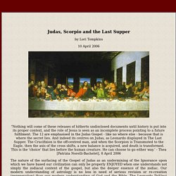 Gospel of Judas - aligns with Hindu Rigvedas - both with knowledge of the Procession of the Equinoxes - Scorpio to Aquilla