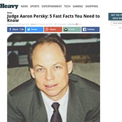 Judge Aaron Persky: 5 Fast Facts You Need to Know