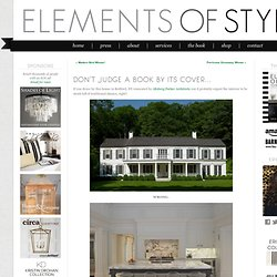 Don't Judge a Book by Its Cover… « Elements of Style Blog