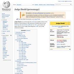 Judge Dredd (personnage)
