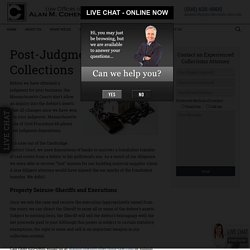 Boston, MA Post-Judgment Collections -Law Offices of Alan M. Cohen LLC