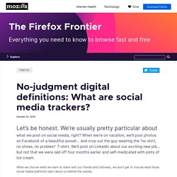 No-judgment digital definitions: What are social media trackers?