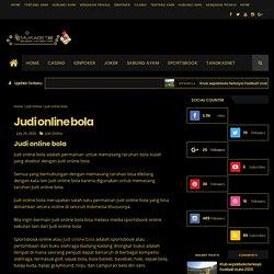 Judi online bola - Judi Online Bola Mukabet88