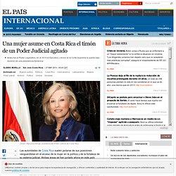Una mujer asume en Costa Rica el timón de un Poder Judicial agitado