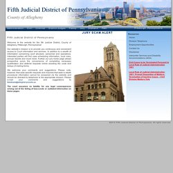 Fifth Judicial District of Pennsylvania