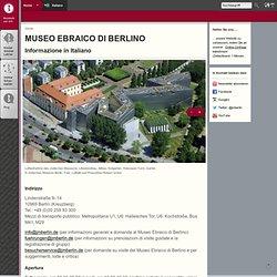 Jüdisches Museum Berlin - sito ufficiale