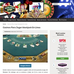 Juega blackjack en línea 2020