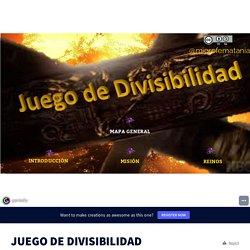 JUEGO DE DIVISIBILIDAD