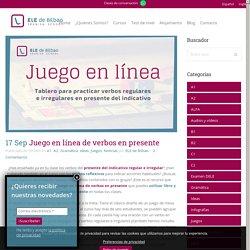 Juego en línea de verbos en presente - ELE de Bilbao