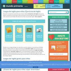 Juegos de inglés. Actividades y ejercicios de inglés para niños