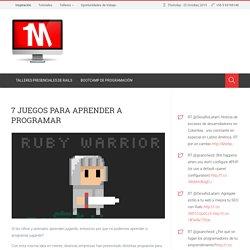 7 Juegos Para Aprender a Programar