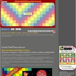 Juegos didácticos para bebes y niños: Paseo por el espacio. Mamás online!