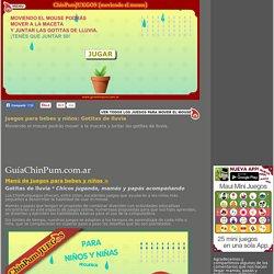 Juegos didácticos para bebes y niños: Gotitas de lluvia. Mamás online!