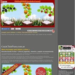 Juegos didácticos para bebes y niños: Recolectando frutas. Mamás online!