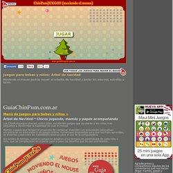 Juegos educativos para bebes y niños: Árbol de navidad. Mamás online!