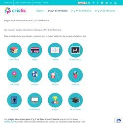 Juegos educativos online para 1º y 2º de Primaria