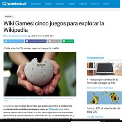 Wiki Games: cinco juegos para explorar la Wikipedia